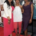 Middle of Nowhere LAFF premiere - Ava DuVernay, Angela Bassett, Emayatzy Corinealdi