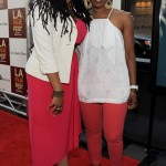 Middle of Nowhere LAFF premiere - Ava DuVernay and Angela Bassett