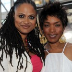 Middle of Nowhere LAFF premiere - Ava DuVernay and Angela Bassett 2