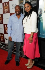 Middle of Nowhere LAFF premiere - John Singleton and Ava DuVernay