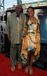 Middle of Nowhere LAFF premiere - Louis Gossett Jr. and Barbara Eve Harris