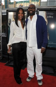 Middle of Nowhere LAFF premiere - Mara Brock Akil and Salim Akil