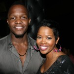 Mooz-lum director Qasim Basir and Malinda Williams
