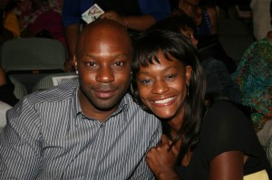 Nelsan Ellis and Sufe Bradshaw