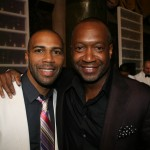 Omari Hardwick and ABFF Founder Jeff Friday