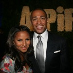 Publicist Marvet Britto and BET host T.J. Holmes