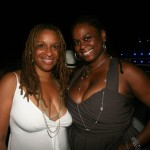 Publicist Yvette N. Harris and Ghana Wilson