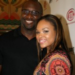 Raising Izzie director Roger M. Bobb and actress Demetria McKinney