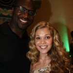 Raising Izzie director Roger M. Bobb and actress Victoria Staley