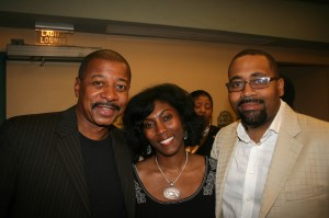 Robert Townsend, friend, and CEO of Grab Networks Alvin Bowes