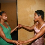 Robinne Lee and Malinda Williams