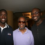 Roger Bobb with his father and cousin