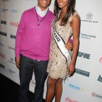 Russell Simmons and Miss Universe Leila Lopes