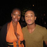 Sidra Smith and Romeo Miller