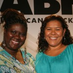 Symmetry Entertainment Co-CEO and Producer Dianne Ashford and Angi Bones, SVP of Development for BobbCat Films