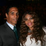 Taimak and Sandra 'Pepa' Denton from Salt-N-Pepa