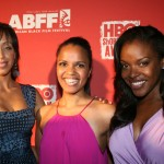 Team Sizzle actresses Shanti Lowry, Kari Nicole, Nadine Ellis