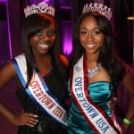 Teen Miss Overtown USA 2012 Brandi Johnson and Miss Overtown USA Marla Spence