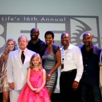 The cast and creators of Raising Izzie with ABFF Founder Jeff Friday