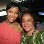 Tracey Heggins and S. Epatha Merkerson