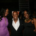 VH1 News correspondent Janell Snowden,  record producer Kedar Massenburg, Miatta David