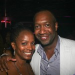 Vanessa Bell Calloway and ABFF Founder Jeff Friday