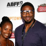 Vanessa Bell Calloway and The Last Fall director Matthew A. Cherry