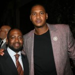Wilson Morales and NY Knicks Carmelo Anthony