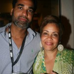 Womack director Andre Wilkins and Dolly Turner of Blackhouse Foundation