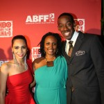 Zero actress Megan Sousa, director Kimberly Townes, and Amrahu Ibrahem