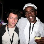director Benh Zeitlin and actor Dwight Henry
