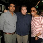 Jay Chandrasekhar, Kevin Heffernan, and Aisha Tyler