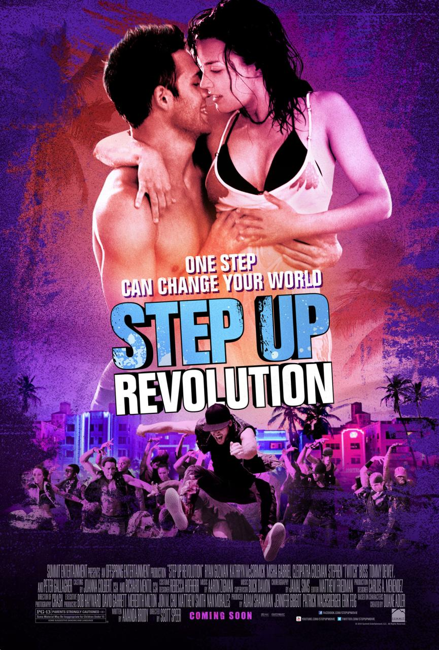 Step Up  Revolution      the fourth installment in the Step UpStep Up Revolution Actor