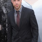 The Dark Knight Rises premiere - Chris Daughtry
