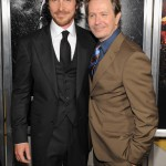 The Dark Knight Rises premiere - Christian Bale and Gary Oldman