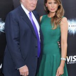 The Dark Knight Rises premiere - Donald Trump, Melania Trump