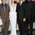 The Dark Knight Rises premiere - Gary Oldman, Anne Hathaway, Christian Bale, Morgan Freeman