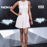 The Dark Knight Rises premiere - Miss Universe Leila Lopes