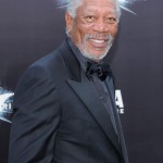 The Dark Knight Rises premiere - Morgan Freeman 2