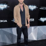 The Dark Knight Rises premiere - Penn Badgley