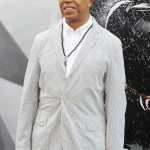 The Dark Knight Rises premiere - Russell Simmons