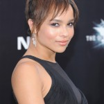 The Dark Knight Rises premiere - Zoe Kravitz