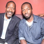 Clarke Peters and Jamie Hector