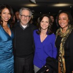 Lincoln - Gloria Reuben, Director Steven Spielberg, Sally Field and S. Epatha Merkerson