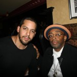 Magician David Blaine and Spike Lee