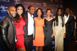 Omari Hardwick, Jordin Sparks, Mike Epps, Debra Martin Chase, Carmen Ejogo, Tika Sumpter and Derek Luke