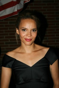 Sparke NY afterparty - Carmen Ejogo