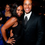 Sparkle LA Premiere Afterparty - Bobbi Kristina Brown and Devon Franklin