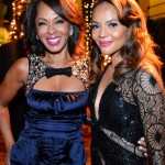 Sparkle LA Premiere Afterparty - Debra Martin Chase and Carmen Ejogo