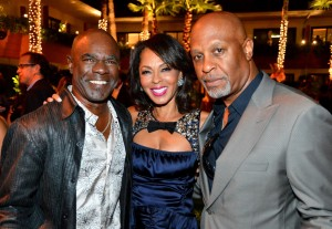Sparkle LA Premiere Afterparty - Glenn Thurman, Debra Martin Chase, and James Pickens Jr